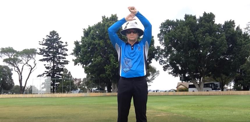last hour signal kreedon Cricket Umpire Signals: