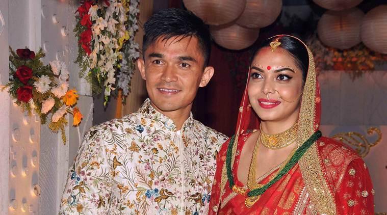 Sunil Chhetri Marriage pics Kreedon