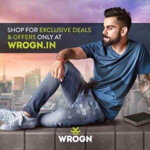 Kohli clothing brand Wrogn KreedOn