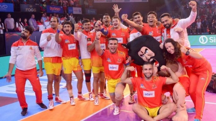 Gujarat Fortunegiants Team 2019 KreedOn
