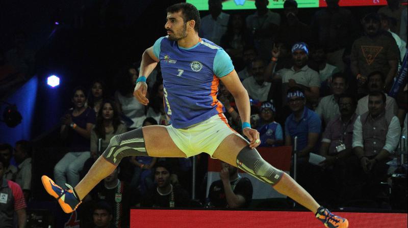 Ajay Thakur's famous frog jump