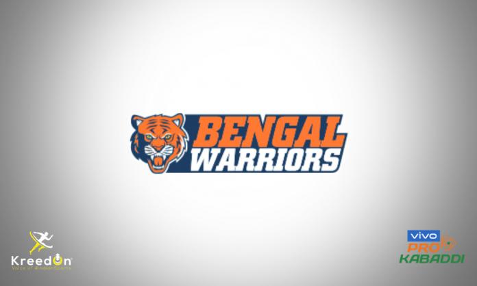 Bengal Warriors KreedOn