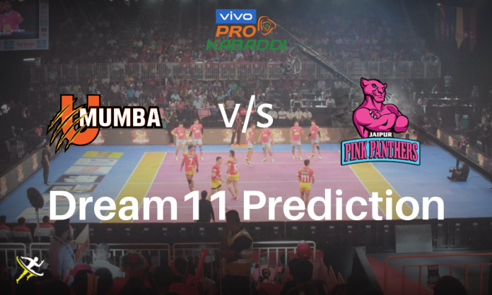 Dream11 MUM vs JAI Pro Kabaddi League 2019 Kreedon