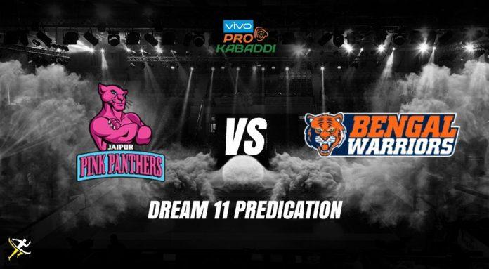Dream11 JAI vs BEN Pro Kabaddi League 2019
