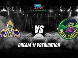 Dream11 TAM vs PAT Pro Kabaddi League 2019 KreedOn