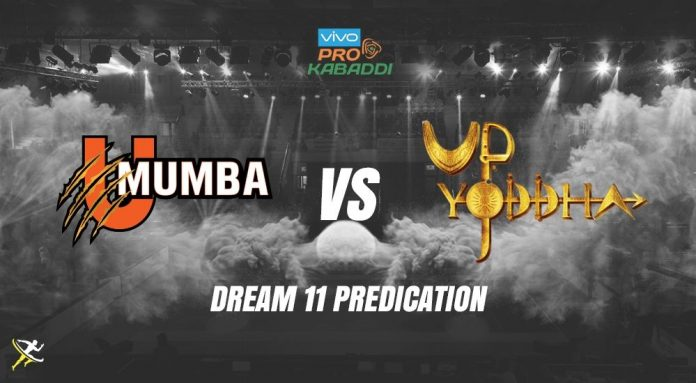 Dream11 MUM vs UP Pro Kabaddi League 2019