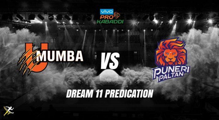 Dream11 MUM vs PUN Pro Kabaddi League 2019