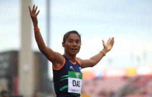Hima Das Indian female athletes KreedOn