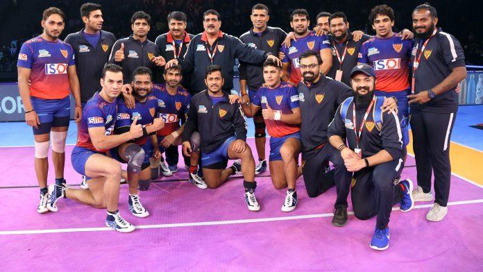 Dabang Delhi Team 2019 KreedOn