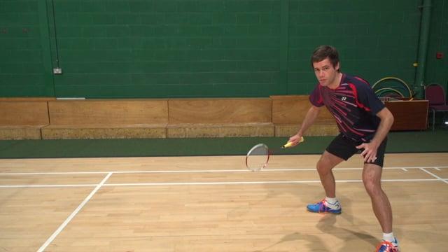 Defencive Stance Badminton kreedon