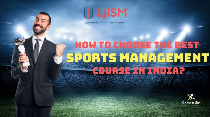sports management course KreedOn