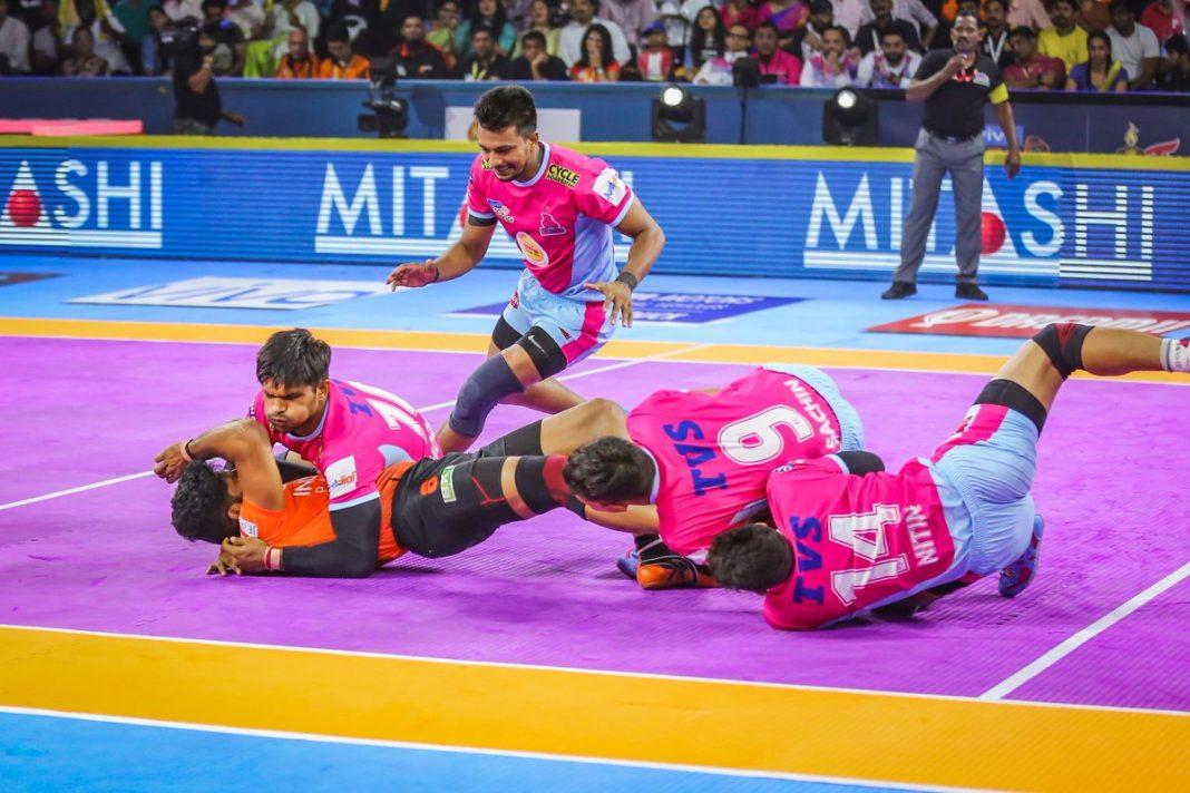Jaipur Pink Panthers sponsor kreedon