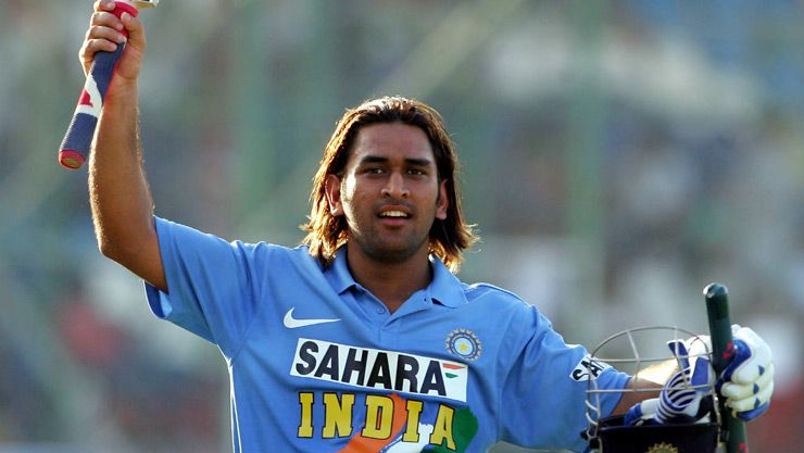 MS Dhoni Hairstyle long Kreedon