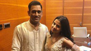 MSD and Sakshi KreedOn