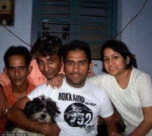 MS Dhoni Family KreedOn