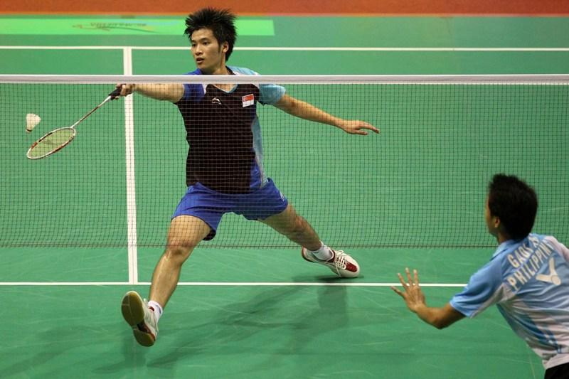 Net stance Badminton kreedon
