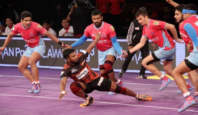 Parvesh Bhainswal Jaipur Pink Panthers kreedon
