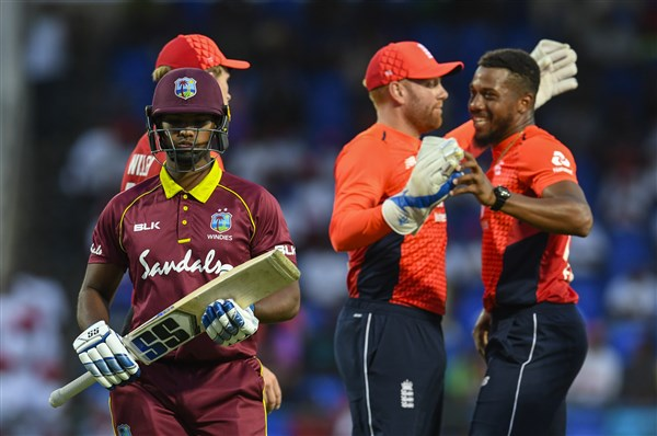 West Indies (45 vs England) KreedOn