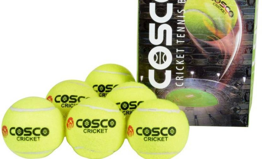 Types of Cricket balls kreedon: tennis balls