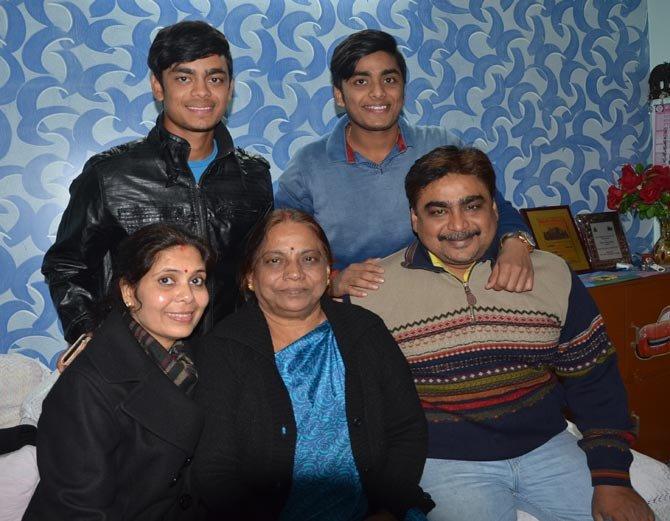 Ishan's family