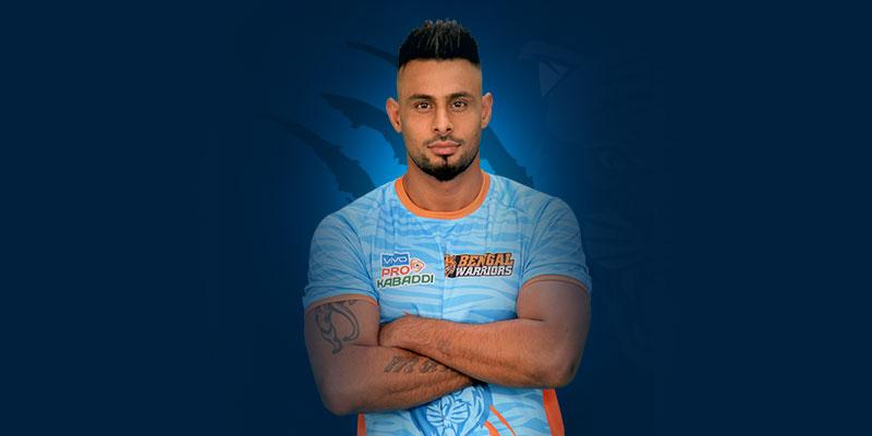 Maninder Singh Bengal Warriors Kreedon