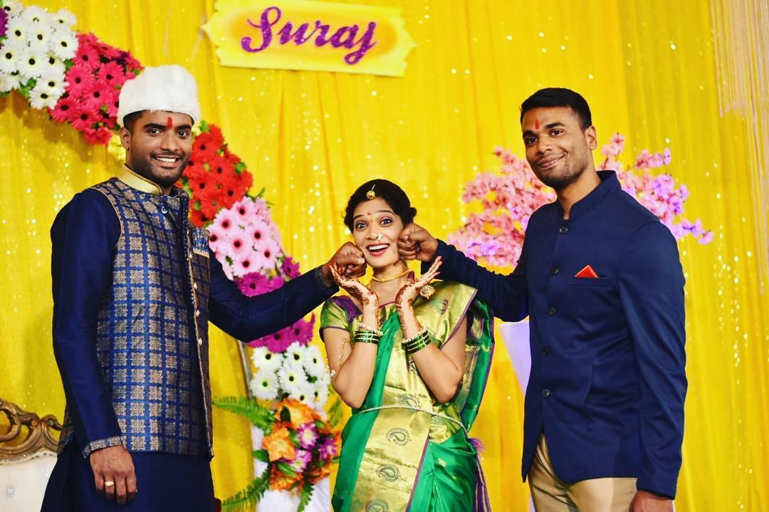 Suraj Desai Wife KreedOn