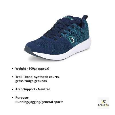 Bourge running shoes kreedon