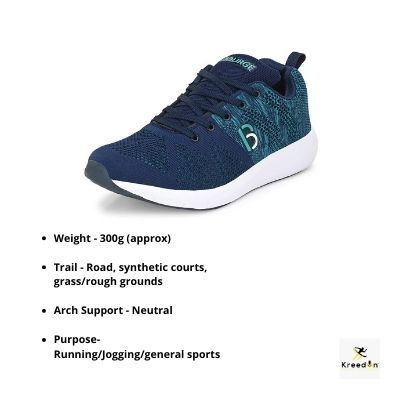 Bourge running shoes kreedon