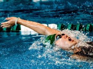 Breathing kreedon backstroke swimming