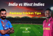 India vs West Indies Dream11 Prediction