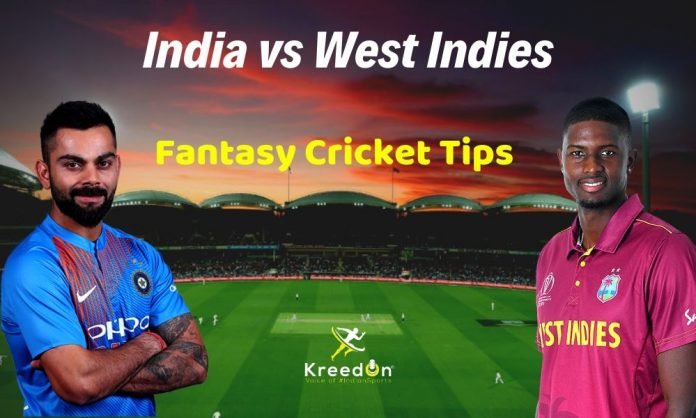 India vs west indies dream11 3rd ODI
