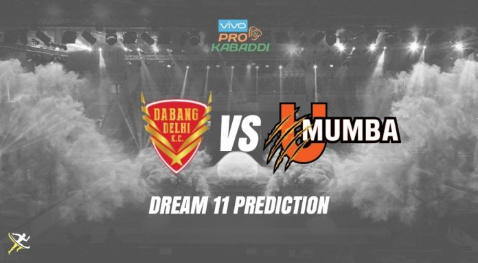 U Mumba vs Dabang Delhi Dream11 Prediction