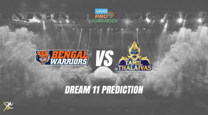 Dream11 TAM vs BEN Pro Kabaddi League 2019   PKL Prediction