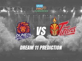 Dream11 PUN vs HYD Pro Kabaddi League 3 October 2019