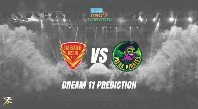 Dream11 DEL vs PAT Pro Kabaddi League 2019