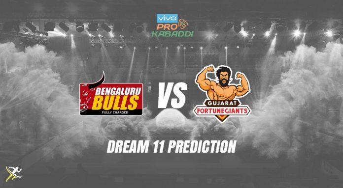 Dream11 BLR vs GUJ Pro Kabaddi League 2019 KreedOn