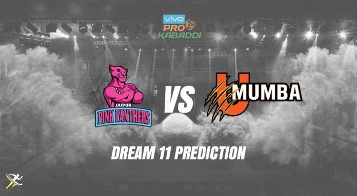 Dream11 JAI vs MUM Pro Kabaddi League 2019