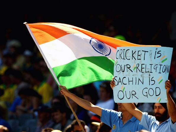 Cricket is our religion and Sachin is our god Kreedon