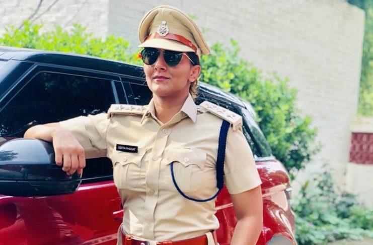 Geeta Phogat Police KreedOn