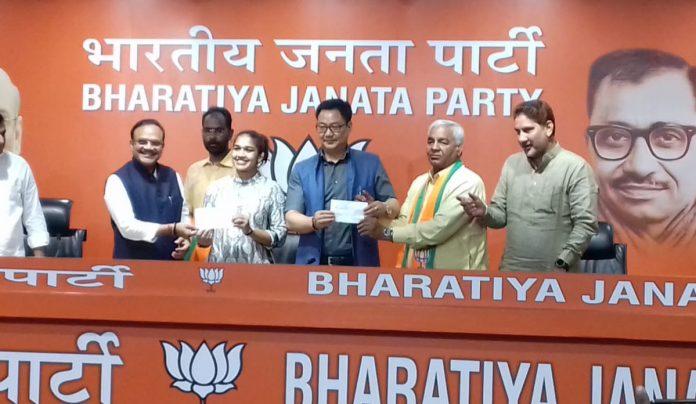 Babita Phogat BJP KreedOn