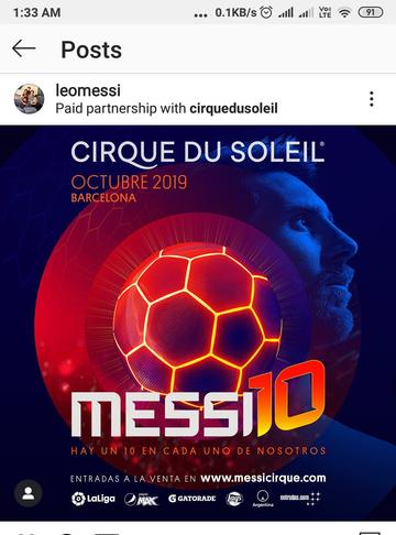 Messi KreedOn