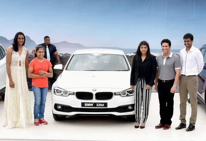 PV Sindhu BMW KreedOn