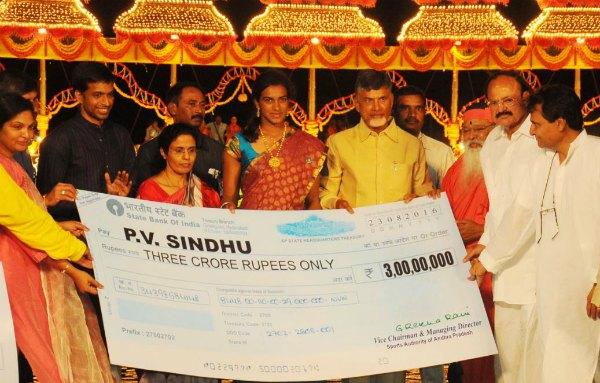 PV Sindhu Rewards KreedOn