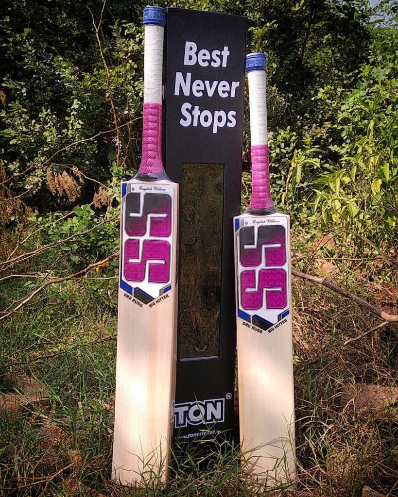 Andre Russle SS cricket bat Kreedon