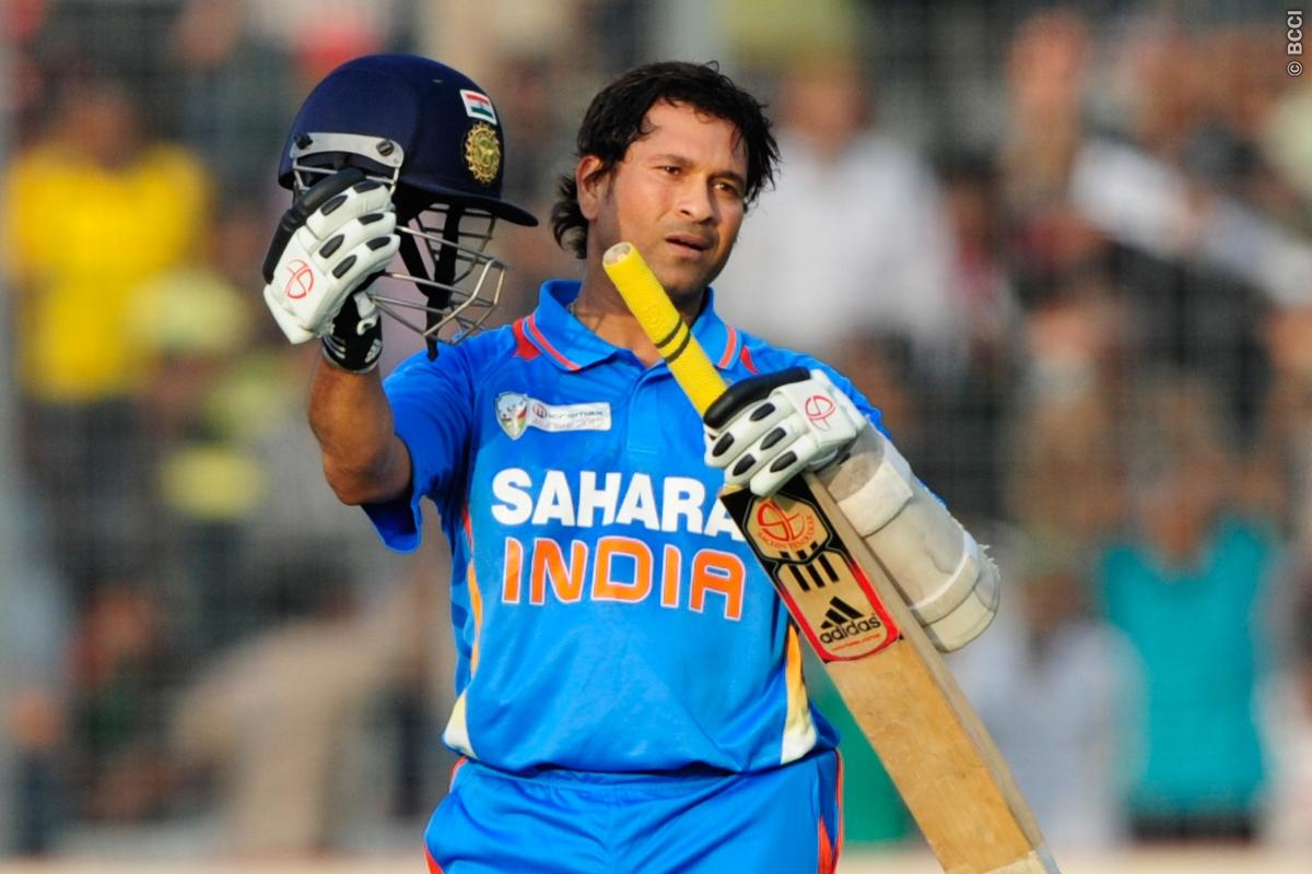 Sachin Tendulkar Records 100th Century Kreedon