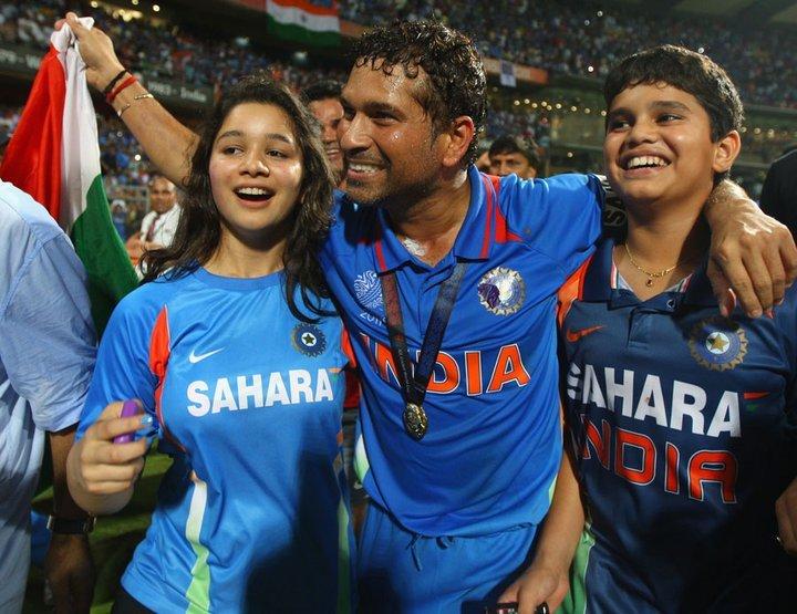 Sachin Kids kreedon Sachin Tendulkar Family