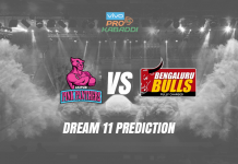 Dream11 JAI vs BLR Pro Kabaddi League 2019