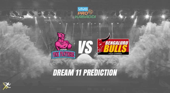 Bengaluru Bulls vs Jaipur Pink Panthers Dream11 Prediction 2019 KreedOn