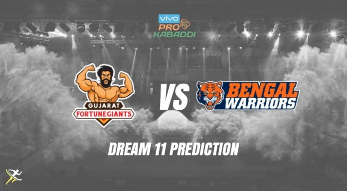 Dream11 BEN vs GUJ Pro Kabaddi League 2019
