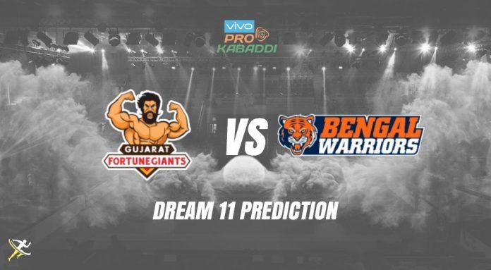 Dream11 BEN vs GUJ Pro Kabaddi League 2019